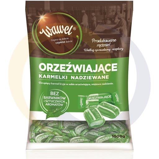 Wawel Karmelki miętowe orzeźwiające 1kg/4dis  kod:5900100000000