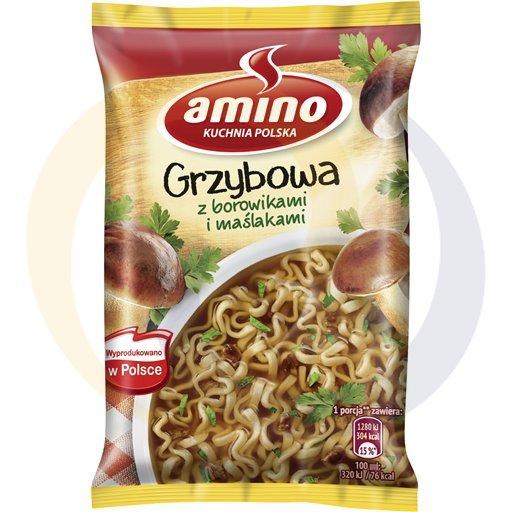 Amino Zupa  bł.grzybowa z boro.i maślaka. 57g/22szt  kod:8711200000000