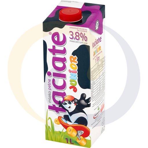 Mlekpol Mleko Łaciate Junior UHT 3,8% 1,0l/12szt  kod:5900820000000