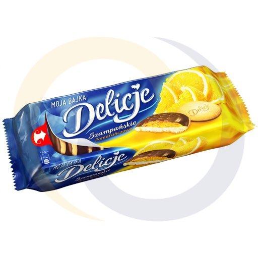 Mondelez - słodycze Delicje pomarańczowe 147g/24szt Mondelez kod:5906750000000
