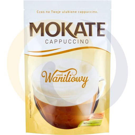 Mokate - kawy Cappucino ze struną waniliowe 110g/10szt Mokate kod:5902890000000