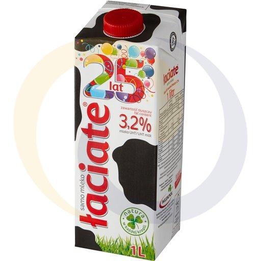 Mlekpol Mleko Łaciate 3,2% 1,0l/12szt  kod:5900820000000