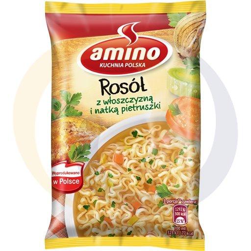 Amino Zupa  bł.ros.z włoszcz.z nat.pietr. 59g/22szt  kod:8711200000000