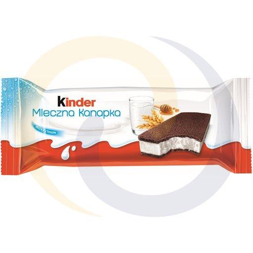 Ferrero Ex Kinder mleczna kanapka 28g/20szt Ferrero kod:40084725