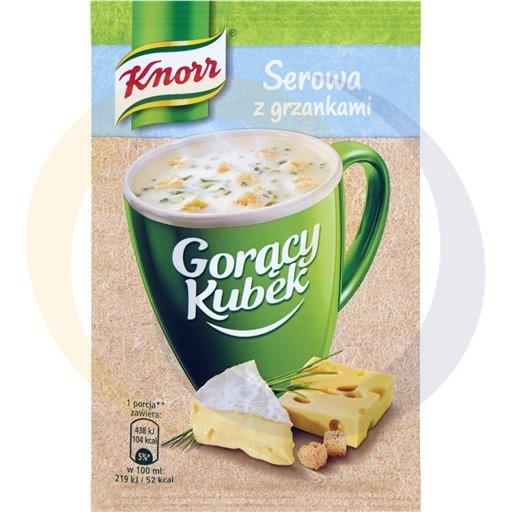 Knorr Zupa GK serowa z grzank. 22g/32szt  kod:8712100000000