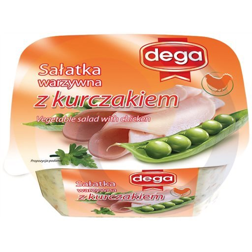 Dega Ex Sałatka warzywna z kurczakiem 280g/8szt Dega kod:5902190000000