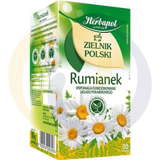 Herbapol Herbata Ziel.Polski rumianek 20t*2,0g/12szt  kod:5900960000000