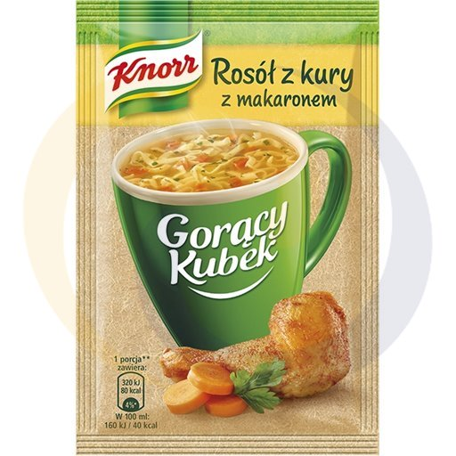 Knorr Zupa GK rosół kura z makaronem 12g/40szt  kod:8712100000000