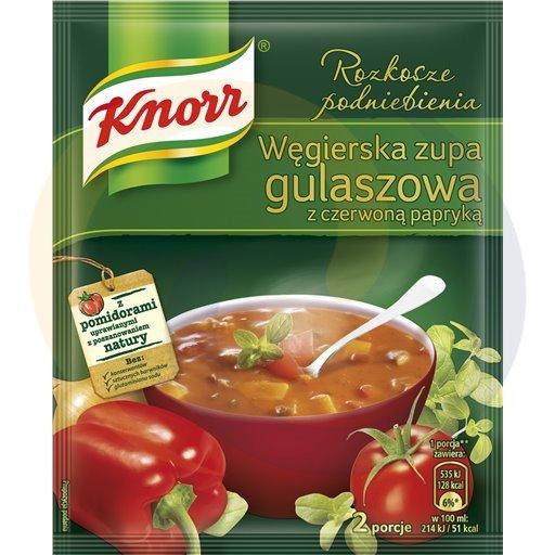Knorr Zupa gulaszowa węgierska 2P-500ml 60g/16szt  kod:8718110000000
