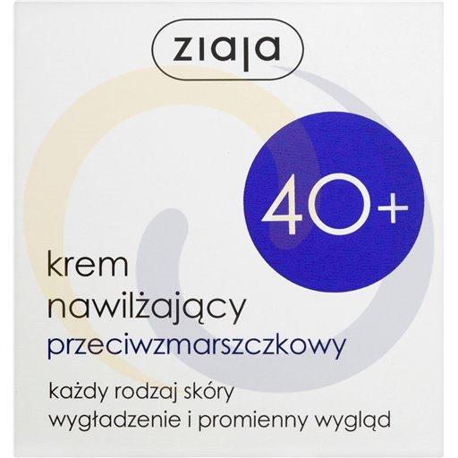 Ziaja Krem nawilżający przeciwzmarszczk. 40+ 50ml/12szt  kod:5901887019459