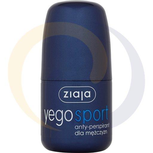 Ziaja Yego anty-perspirant sport dla mężczyzn/roll-on 60m kod:5901887019824