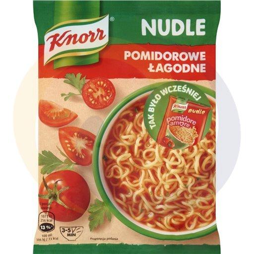 Knorr Zupa Nudle Pomidorowa łagodna 65g/22szt  kod:8714100000000