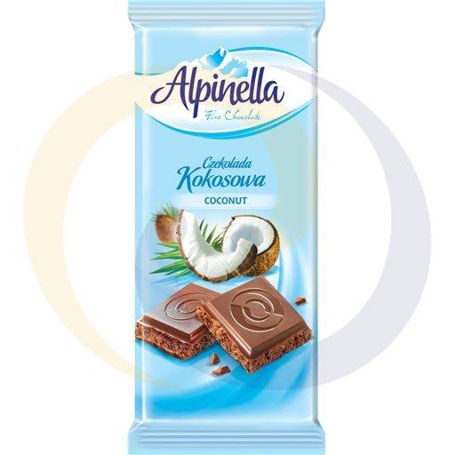 Eurovita (Terravita) Czekolada Alpinella kokosowa 90g/25szt Terravita kod:5901810000000