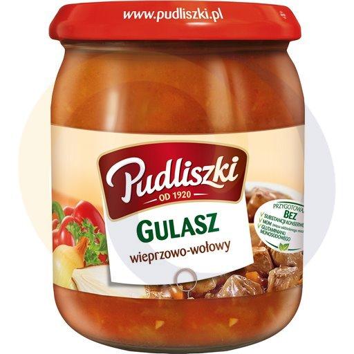 Pudliszki Gulasz wiep.wołowy 500g/4szt  kod:5900780000000
