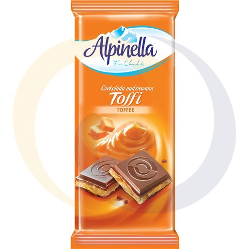 Eurovita (Terravita) Czekolada Alpinella nadz toffi 100g/22szt Terravita kod:5901810000000