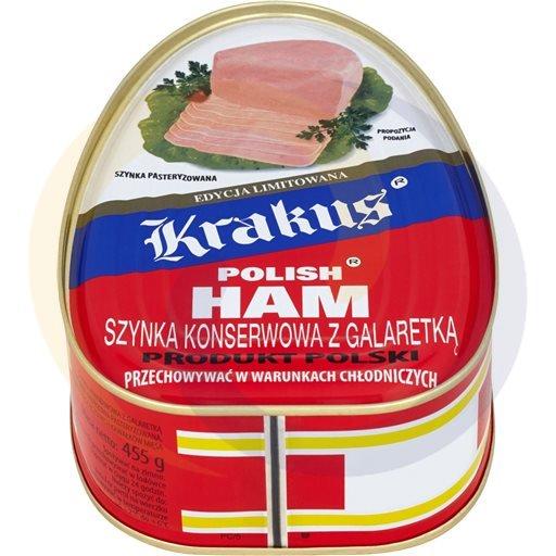 Krakus Szynka konserwowa 455g/10szt  kod:5900240000000