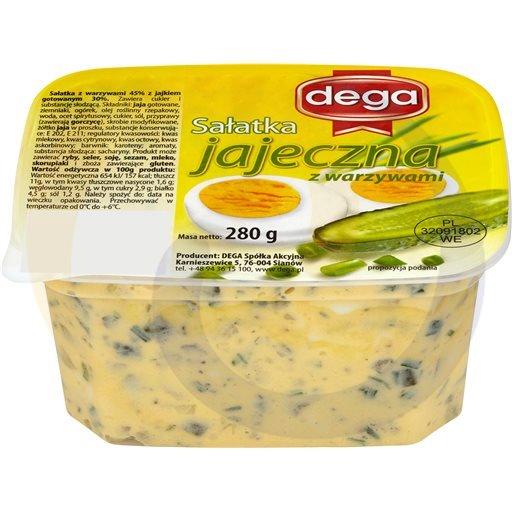 Dega Ex Sałatka jajeczna z warzywami 280g/8szt Dega kod:5907620000000
