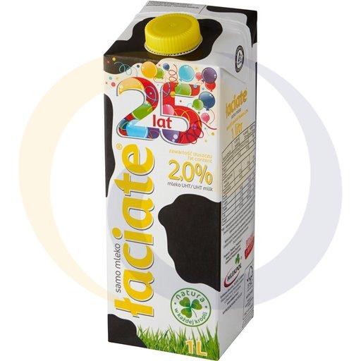 Mlekpol Mleko Łaciate 2% 1,0l/12szt  kod:5900820000000