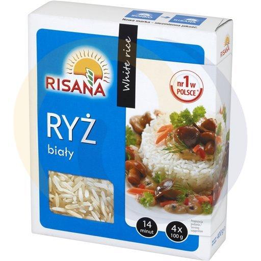 Risana Ryż biały długoziarnisty 4*100g/12szt  kod:5902180000000