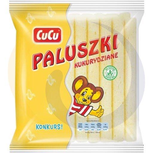 Guzik Paluszki kukur.zwykłe CuCu 50g/20szt  kod:5907620000000