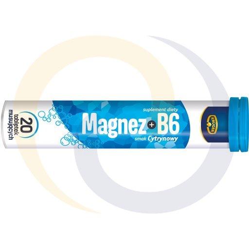 Kruger Tabletki magnez + wit.B6 80g/28szt  kod:5901720000000