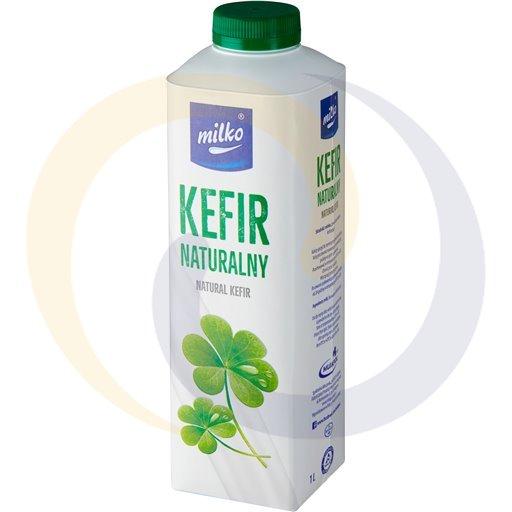 Mlekpol E Kefir Milko Naturalny 1,0l/10szt Mlekpol kod:5900820000000