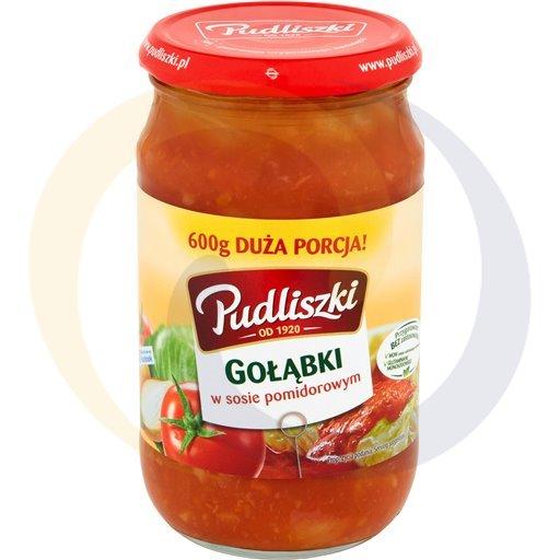 Pudliszki Gołąbki w sosie pomidor.600g/8szt  kod:5900780000000