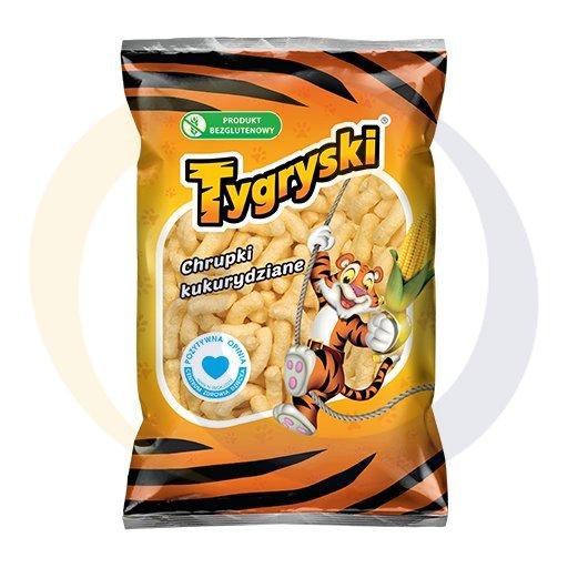TBM Snacks Chrupki kukurydziane tygryski 100g/25szt TBM kod:5908220000000