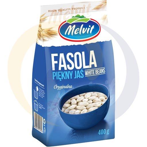 Melvit Fasola piękny Jaś 400g/12szt  kod:5906830000000