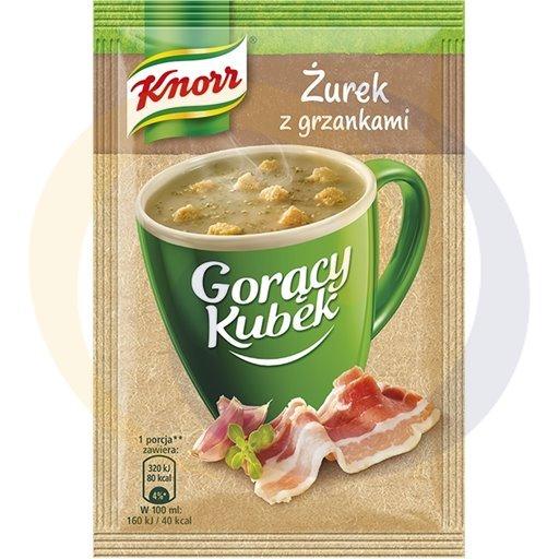 Knorr Zupa GK żurek z grzankami 17g/38szt  kod:8712100000000