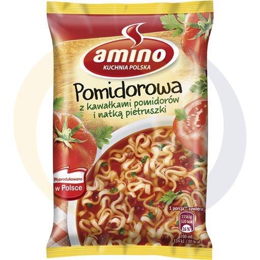 Amino Zupa  bł.pomidorowa z piet.z mak. 61g/22szt  kod:8711200000000