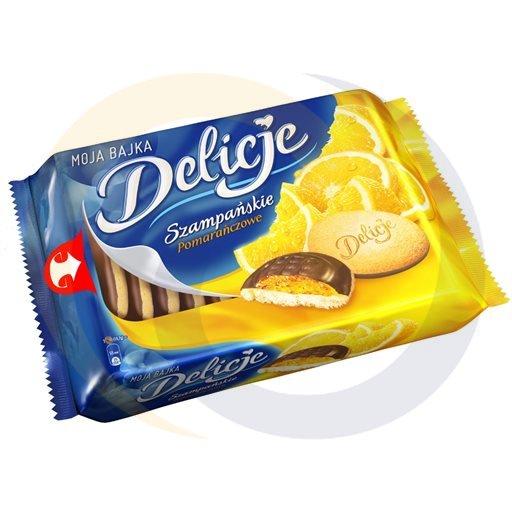 Mondelez - słodycze Delicje pomarańczowe 294g/10szt Mondelez kod:5906750000000