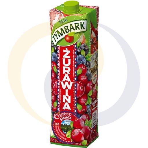 Tymbark Napój Owoce Świata żuraw.cza.jago.jab.1,0l/12szt  kod:5900330000000