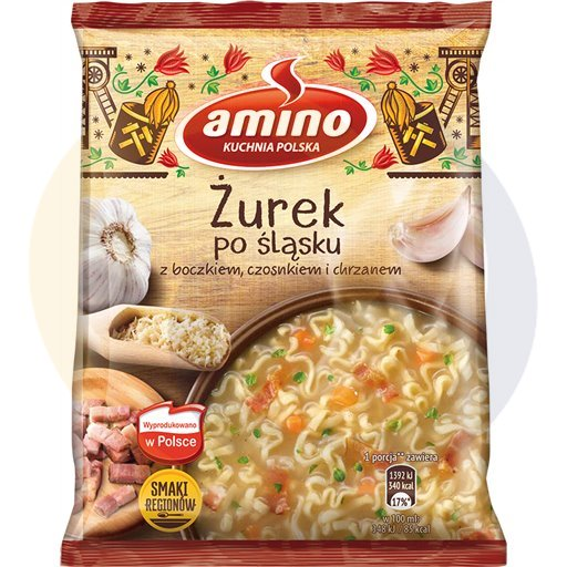 Amino Zupa  bł.żurek śląski 65g/22szt  kod:8711200000000