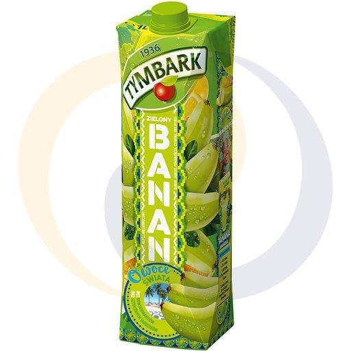Tymbark Napój Owoce Świata ziel.banan pomar.1,0l/12szt  kod:5900330000000