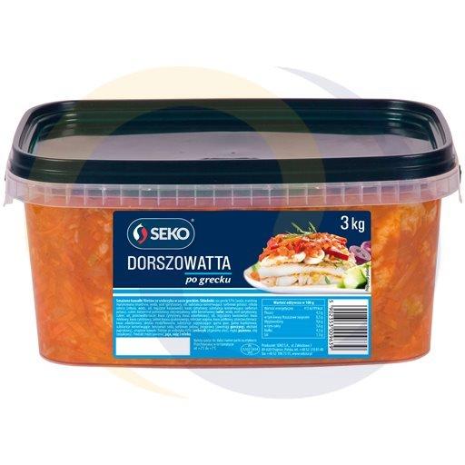 Seko Dorszowatta ryba po grecku 3kg/1szt  kod:5902350000000