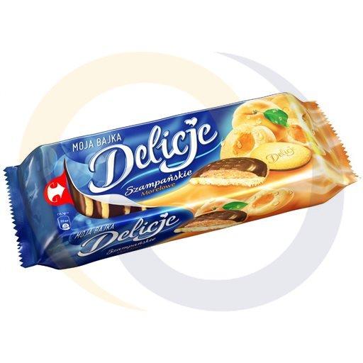 Mondelez - słodycze Delicje morelowe 147g/24szt Mondelez kod:5906750000000