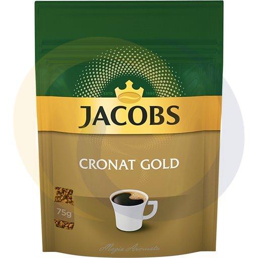 Jacobs Kawa rozp. Cronat Gold torebka 75g/12szt  kod:8711000000000