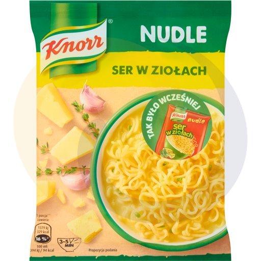 Knorr Zupa Nudle Ser w ziołach 61g/22szt  kod:8714100000000