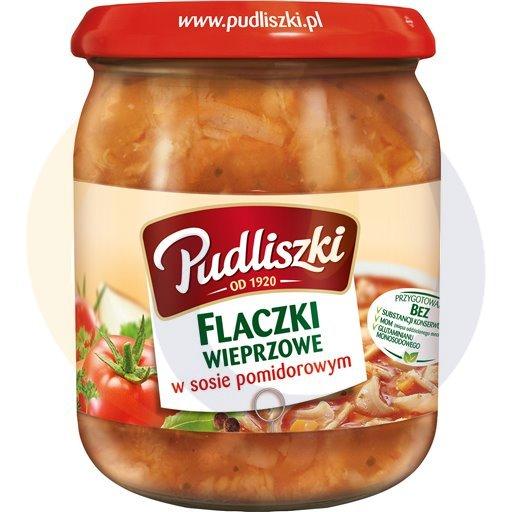 Pudliszki Flaki wieprzowe w sosie pomidorowym 500g/4szt  kod:5900780000000