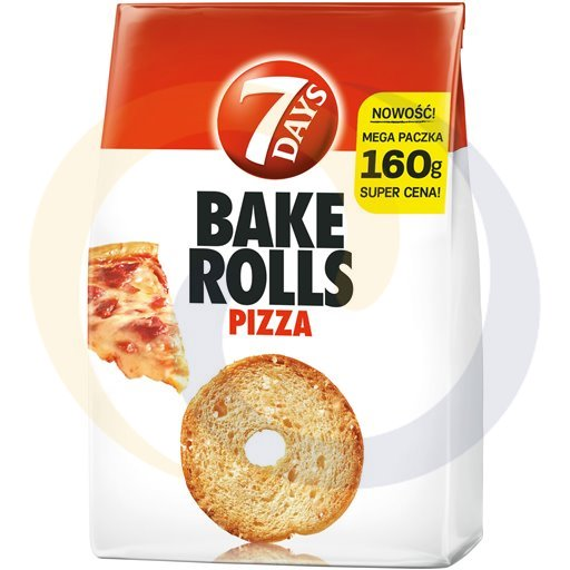 Chipita Bake Rolls pizza 160g/12szt  kod:5201360000000