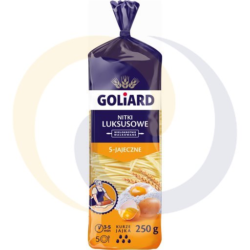 Goliard Makaron nitka luksusowa 250g/40szt  kod:5900250000000