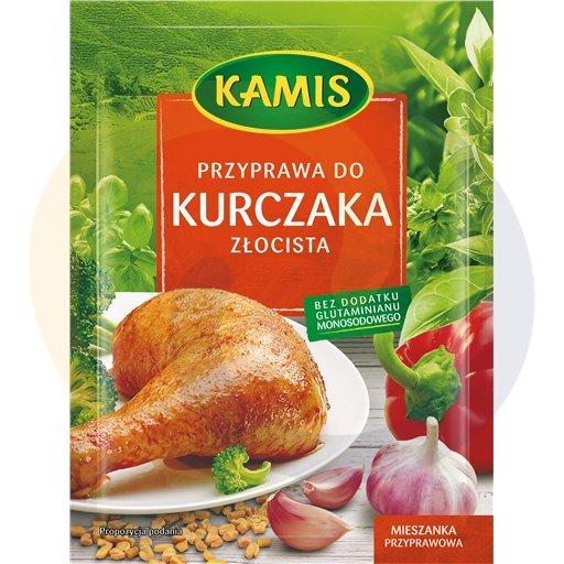 Kamis suchy Przyprawa do kurczaka złocista 30g/30szt Kamis kod:5900080000000