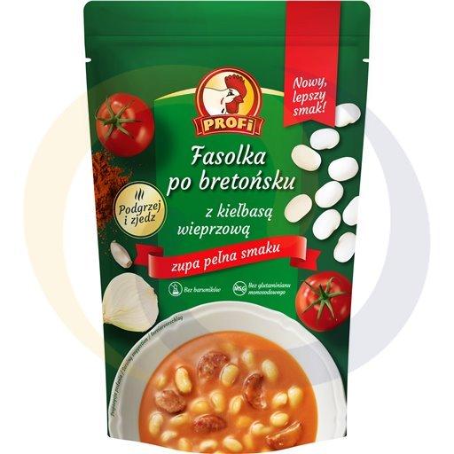 Profi Zupa fasolka po bret.z kiełbasą 450g/6szt  kod:5901700000000