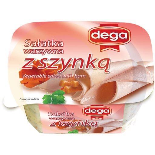 Dega Ex Sałatka warzywna z szynką 280g/8szt Dega kod:5902190000000