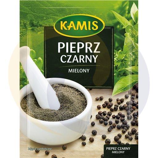 Kamis suchy Pieprz czarny mielony 20g/25szt Kamis kod:5900080000000
