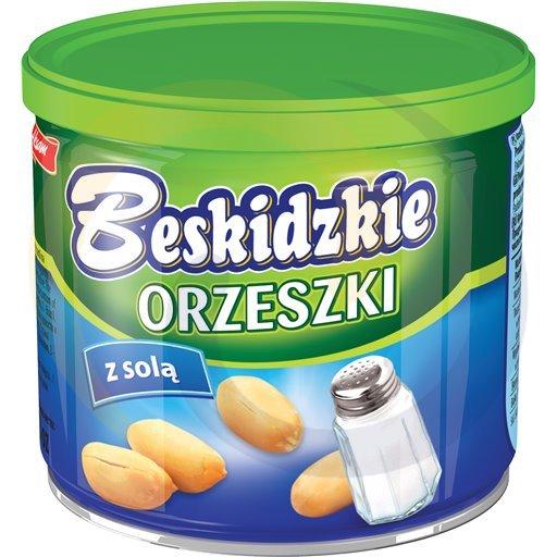 Aksam Orzeszki solone puszka 140g/12szt  kod:5907030000000