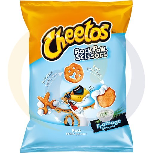 Frito Lay Chrupki Cheetos Rock Sciss.Paw Froma.85g/20szt  kod:5900260000000