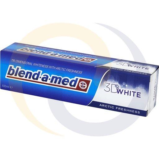 Procter & Gamble Kosmetyki Pasta do Zębów Blend-A-Med 100ml/24szt 3D White Arct kod:4015600620158