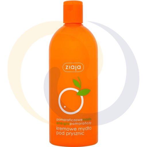 Ziaja Pomarańczowe kremowe mydło pod pryszn 500ml/15szt  kod:5901887014447